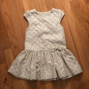 Kate spade gold party dress Size 3y